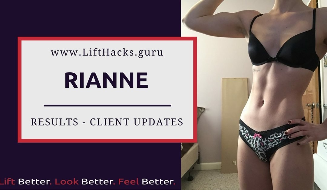 Rianne – Transformation Update